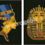 Nefertiti si Tutankhamon