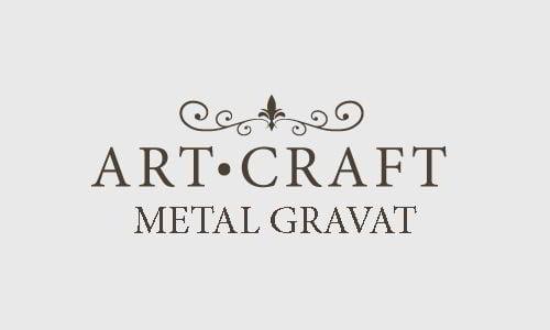Metal gravat