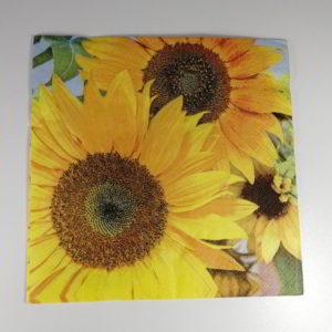 servetel floarea soarelui