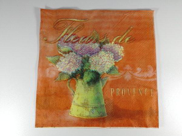 servetel glastra cu flori