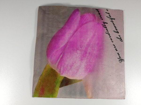 servetel lalea roz