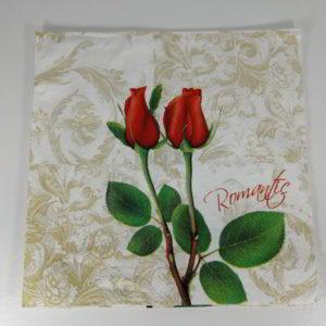 servetel trandafir romantic 2