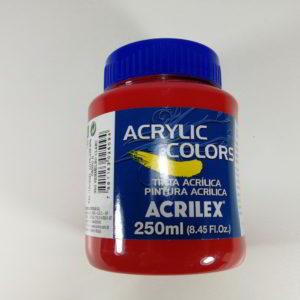Culoare acrilica rosu