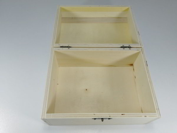 Cutie lemn dreptunghiulara C 2