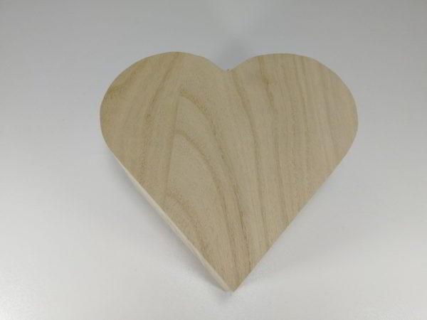 Cutie lemn inima