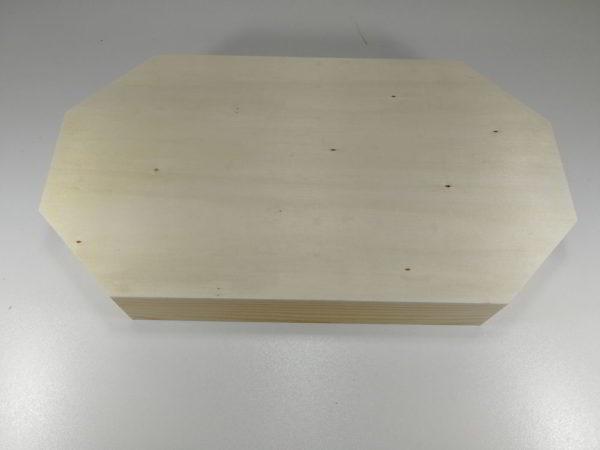 Tava lemn hexagonala 2