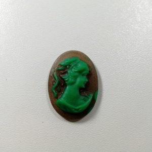 cammeo rasina fem verde maro