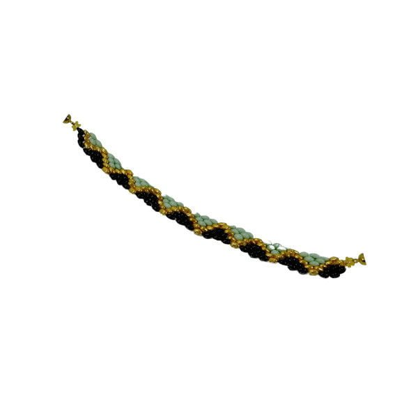 bratara triunghi valerde negru